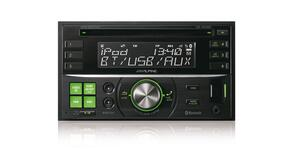 ALPINE CDE-W235BT - 2DIN CD RECEIVER med Bluetooth