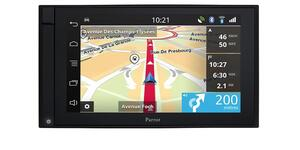 Parrot ASTEROID Smart 2DIN navigation Bluetooth DK GPS version