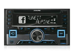 alpine bilradio CDE-W296BT med bluetooth