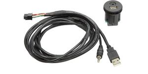 USB / AUX Adapter kabel 44-1213-001 Nissan 2011 ->