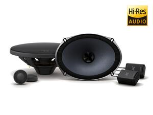 "ALPINE X-S69C 6 x 9"" Component 2-Way X-Series Speakers"