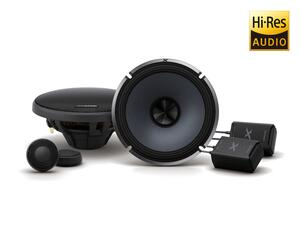 "ALPINE X-S65C 6-1/2"" (16.5cm) Component 2-Way X-Series Speakers"