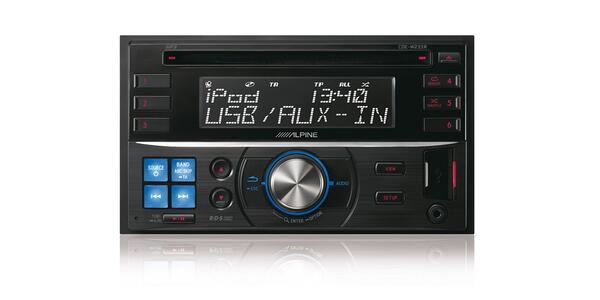 Alpine CDE-W233R - 2din CD reciever med stort display