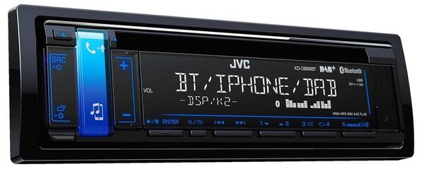 JVC KD-DB98BT DAB Bilradio med Bluetooth