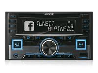 ALPINE CDE-W296BT - 2DIN CD Multicolor bilstereo med Bluetooth